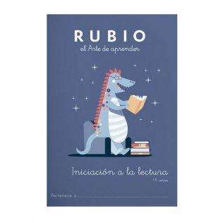 Cuaderno Rubio Iniciación a la lectura +5