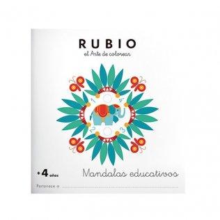 Cuaderno Rubio Mandala +4 años