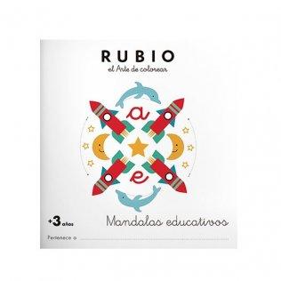 Cuaderno Rubio Mandala +3 años