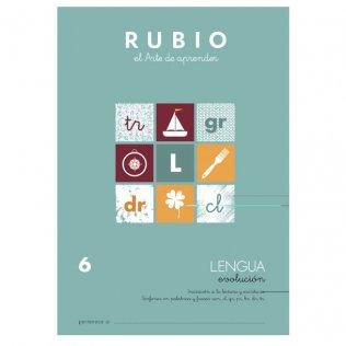 Cuaderno Rubio Lengua Evolución 6