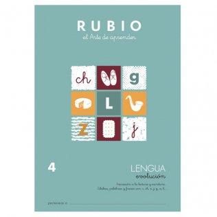 Cuaderno Rubio Lengua Evolución 4