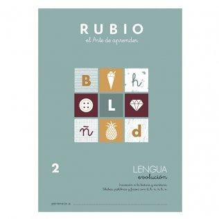 Cuaderno Rubio Lengua Evolución 2