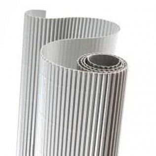 Cartón ondulado Sadipal Metal Plata. 5 udes.
