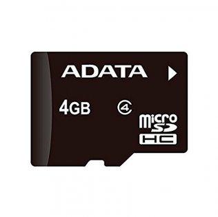 Tarjeta de memoria Adata Micro SDHC 4 Gb