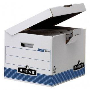 Contenedor de archivo definitivo con tapa fija Fellowes r-kive 293x350x370