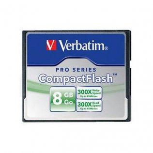Tarjetas de memoria Verbatim CompactFlash 8 Gb Alta velocidad