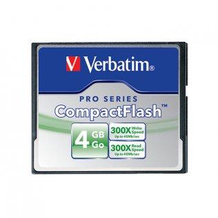 Tarjetas de memoria Verbatim CompactFlash 4 Gb Alta velocidad
