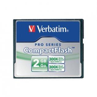 Tarjetas de memoria Verbatim CompactFlash 2