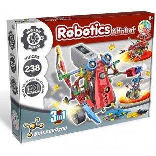 Juego Ecuativo Robotix Alfabot 3en1 Science4You