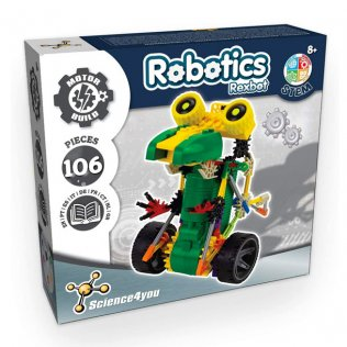 Juego Educativo Robotix Rexbot Science4You