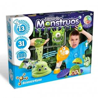 Juego Educativo Fábrica de Monstruos Science4You