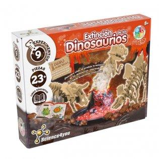 Juego Educativo Extinción de los Dinosaurios Science4You