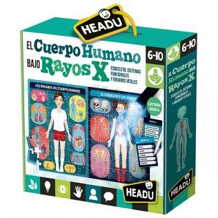 Juego Educativo El Cuerpo Humano bajo Rayos X