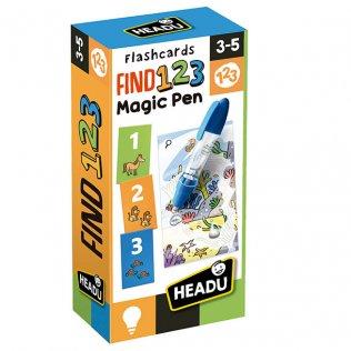 Juego Educativo Flashcards Find 123 Magic Pen Fournier