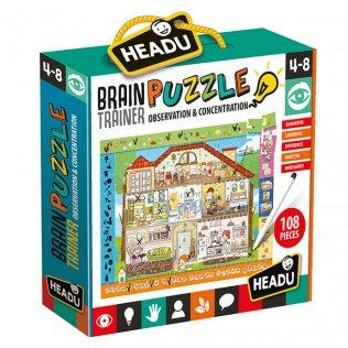 Juego Educativo Brain Trainer Puzzle Fournier