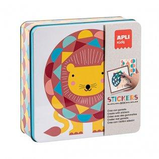 Juego Educativo Stickers Game León Apli Kids