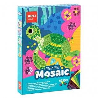 Juego Educativo Marine Mosaic Goma Eva Apli Kids
