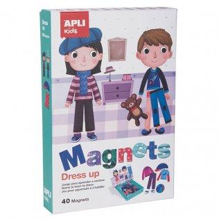 Juego Educativo Magnets Dress Up Apli Kids