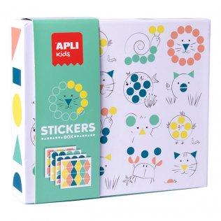 Juego Educativo Stickers Game Animales Apli Kids