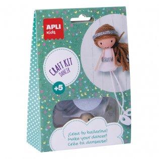 Juego Educativo Craft Kit Bailarina Apli Kids
