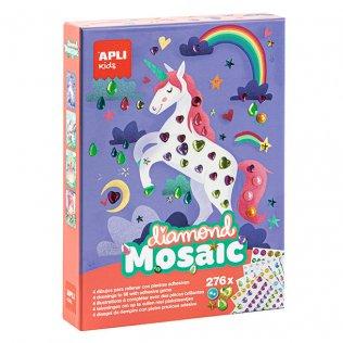 Juego Educativo Diamond Mosaic Piedras adhesivas Apli Kids