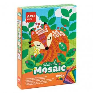 Juego Educativo Animals Mosaic Goma Eva Apli Kids