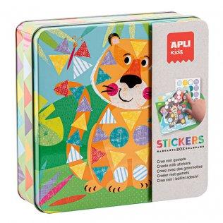 Juego Educativo Stickers Game Selva Apli Kids