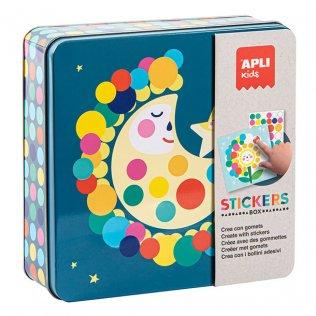 Juego Educativo Stickers Game Luna Apli Kids