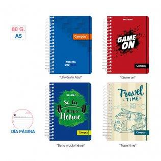 Agenda Escolar Campus A5 D/P Chico Tapa PP