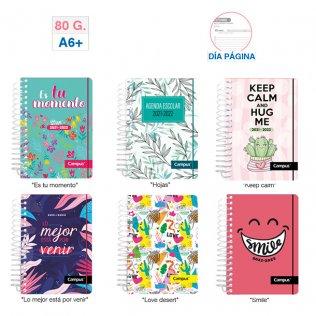 Agenda Escolar Campus A6+ D/P Tapa PP Chica