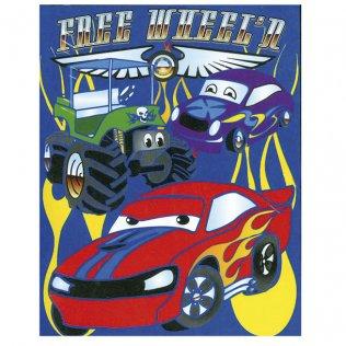 Poster colorear Makro Paper coches
