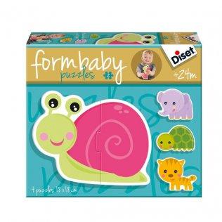 Juego Educativo Form Baby Caracol Diset