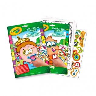 Libro para colorear + Stickers Crayola
