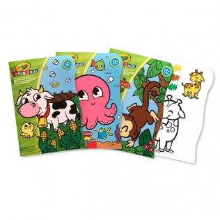 Juego educativo Crayola libro para colorear mini kids 3 uds
