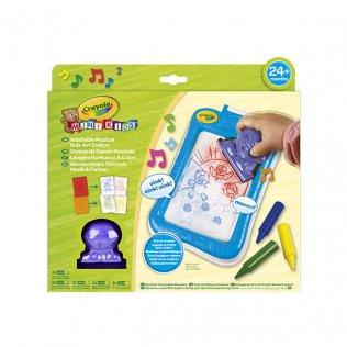 Juego educativo Crayola pizarrita musical para colorear mini kids