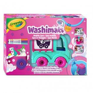 Washimals Spa Camión con 2 mascotas Crayola