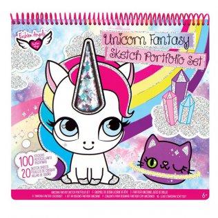 Juego educativo Crayola álbum para colorear Unicornio Fantasía