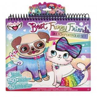 Álbum para colorear Amigos Blanditos Crayola