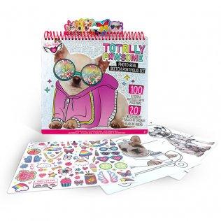 Juego educativo Crayola súper álbum diseño