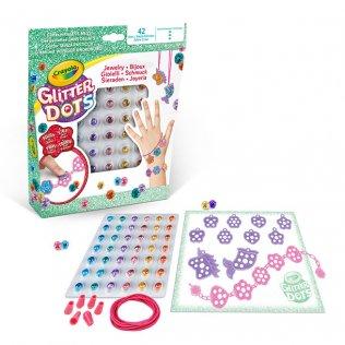 Juego educativo Crayola Glitter Dots Kit Joyería