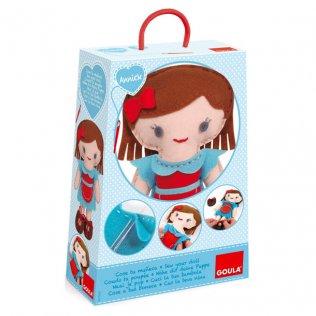 Juego Educativo Cose tu muñeca Annick Goula