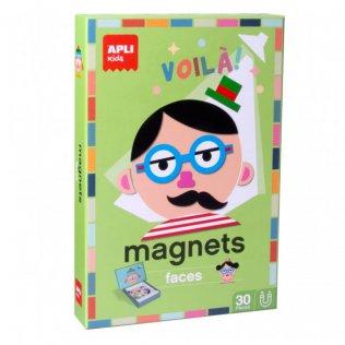 Juego Educativo Magnets Faces Apli Kids
