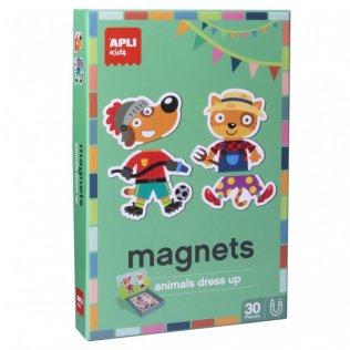 Juego Educativo Magnets Animals Dress Up Apli Kids