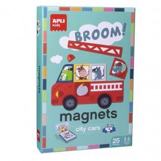 Juego Educativo Magnets City Car Apli Kids