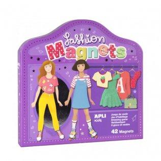 Juego Educativo Magnets Fashion Apli Kids