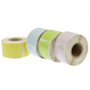 Etiquetas térmicas LabelWriter 28x89mm surtidos/papel 520ud