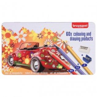 Lápices de colores Talens 60 piezas