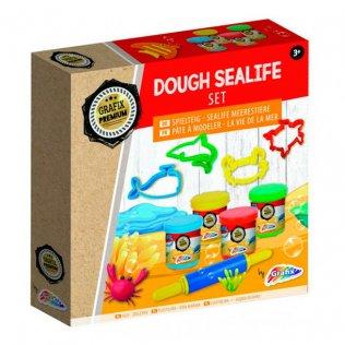 Juego Dough Sealife Set Pasta para Modelar Grafix