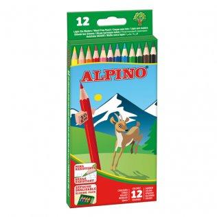Lápices de colores Alpino 12 unid