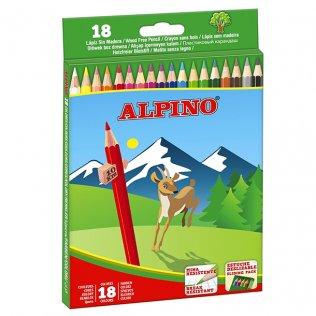Lápices de colores Alpino 18 unid